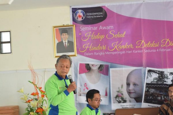 """Seminar on World Cancer Day 2019, """"Healthy Living, Prevent"""